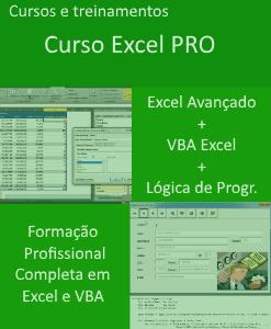 Curso Excel Avançado VBA Lógica de Programação