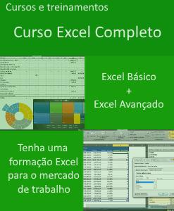 Curso Excel Completo - Curso Excel Básico + Curso Excel Avançado