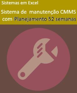 Sistema de Gestão da Manutenção - CMMS 2.0 - Planejamento 52 semanas