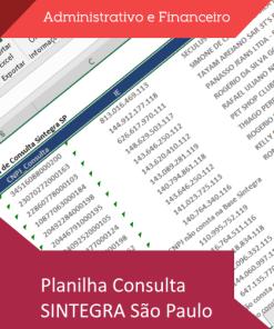 Consulta SINTEGRA São Paulo