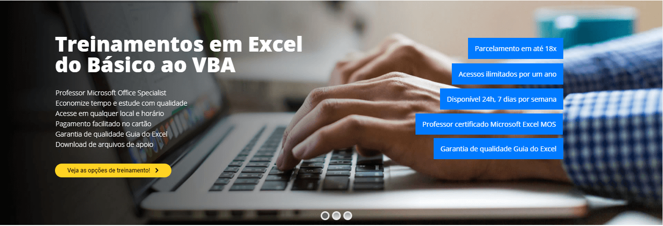 Treinamento Excel