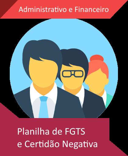 Planilha de CDN e FGTS