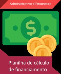 Planilha Price SAC com carência e extras loja