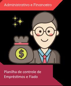 Planilha de empréstimos e fiado