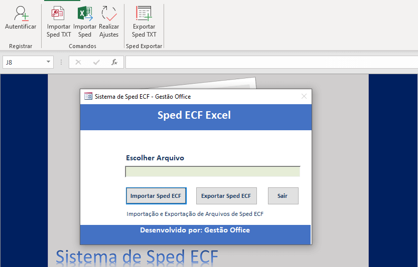SPED ECF 3
