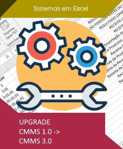 Upgrade CMMS 1 para CMMS 3.0