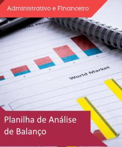Planilha de análise de balanço