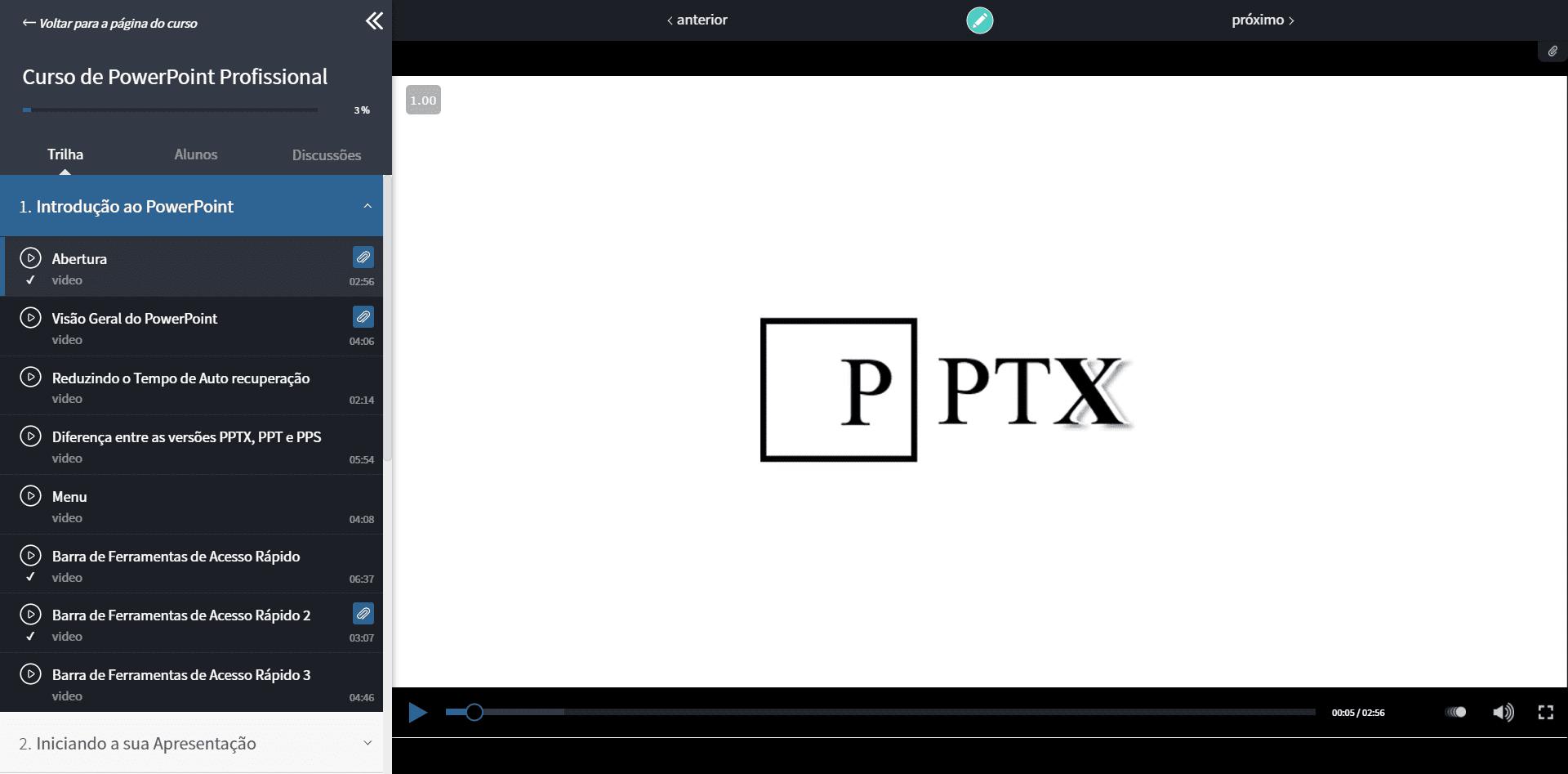 Curso de PowerPoint Guia do Excel 1