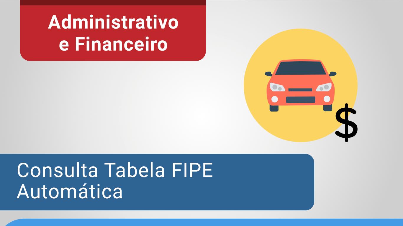 Tabela-FIPE-Excel