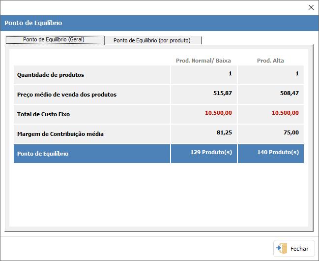 Planilha de Formação de Preços de Produtos Excel 10